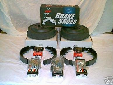 "1964 1965 1967 1969 70 MUSTANG FAIRLANE FALCON REAR 1 3/4"" DRUM BRAKE PACKAGE"