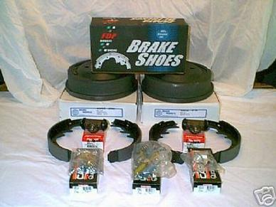 "1967 1968 19 69 1971 1973 MUSTANG COUGAR TORINO CYCLONE 2"" REAR BRAKE PACKAGE"